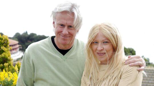 Björn Borg med sin nuværende hustru, Patricia Östfeldt.