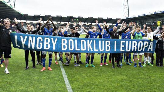 Lyngbys cheftræner, David Nielsen er stolt af sin trup, og han ser frem til at spille europæisk.