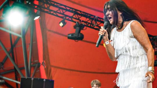 Roskilde Festival 2017 Savage Rose med Annisette i forgrunden spiller på Orange Scene torsdag 29. juni 2017
