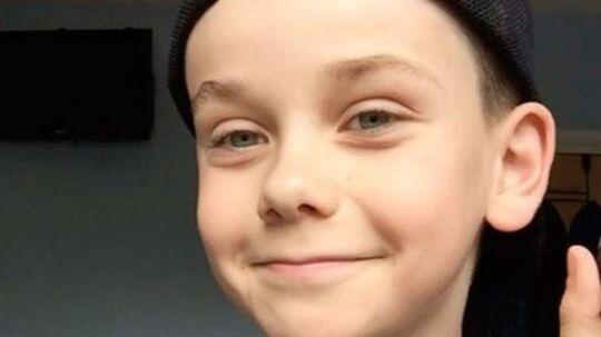 Han ligner enhver anden dreng på ti år, men Jack fra England kan forvandle sit ansigt til noget der er en catwalk værdig.