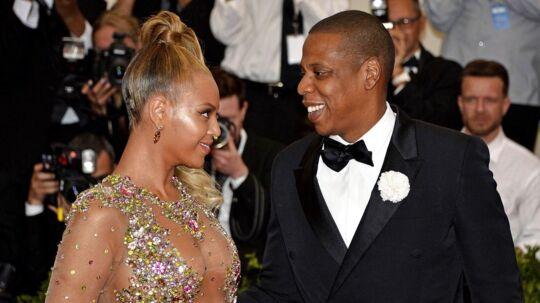 Beyoncé og Jay-Z ved et galla-arrangement i 2015.