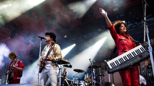 Arcade Fire spiller på Orange scene på Roskilde Festival 2017, lørdag den 1. juli 2017.