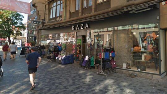 Her ses Kaza på Købmagergade i København.