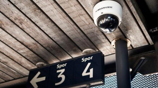 Emilie Meng-sagen. Overvågningskamera på Korsør Station fra firmaet Scanview. Onsdag den 5. juli 2017.