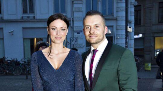 Den tidligere vært på TV2 Lisbeth Østergaard med sin ægtemand Ralf Christensen.