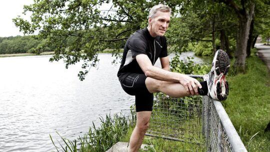 """Den løbende læge, Jerk W. Langer, elsker Eremitageløbet. """"Det er en ære at være ambassadør for løbet, der startede motionsbevægelsen og var med til at gøre løb til en folkesport,"""" siger han."""