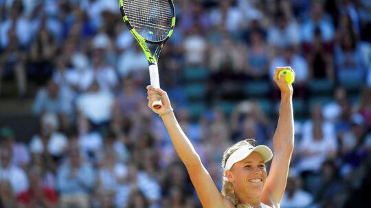 Caroline Wozniacki håber på en sejr mandag og en lagkage tirsdag, hvor hun har fødselsdag,