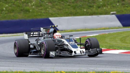 Kevin Magnussen måtte udgå i det østrigske grand prix, men han ser frem til næste uges grand prix på Silverstone med optimisme.