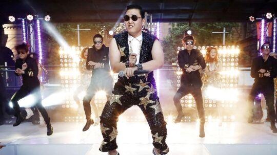Den sydkoreanske sanger Psy står bag megahittet 'Gangnam Style'.