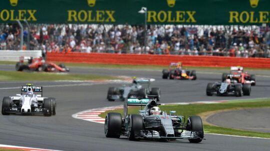 Silverstone-banen er for sidste gang med i Formel 1-serien i 2019. Billedet her er fra sidste års grand prix.