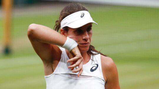 Den 26-årige engelske tennisspiller Johanna Konta gemmer på en tragisk historie bag hendes store succes på banen.