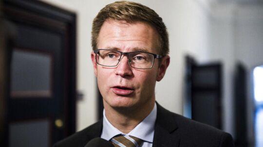 Finansordfører for Socialdemokratiet Benny Engelbrecht (Foto: Ólafur Steinar Gestsson/Scanpix 2017)