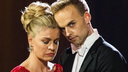 Mads Vad dansede sig i 2016 helt til finalen i Vild med dans med skuespilleren Mille Dinesen ved sin side. Scanpix/Ólafur Steinar Gestsson/arkiv