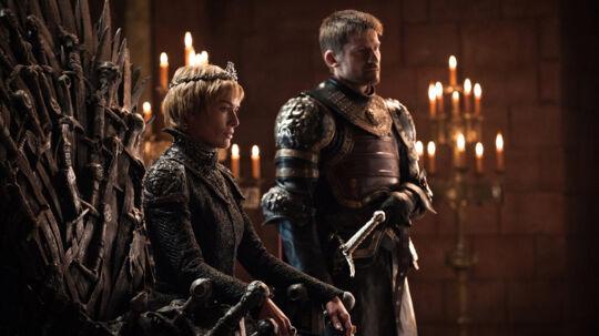 Til huset Lannister hører søskendeparret Cersei og Jamie, og de fleste ved nok, at det er danske Nikolaj Coster Waldau, der spiller rollen som sidstnævnte. Og at Jamie har et forhold til sin søster. Foto: HBO