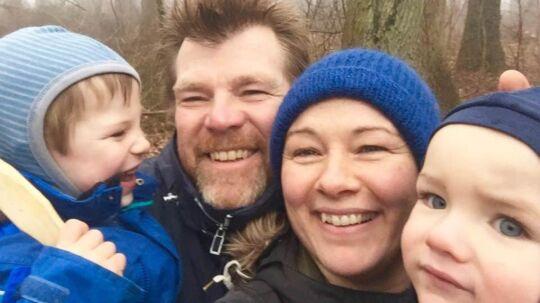 Gorm Lundshøj og hans kone Mia er enige om, at drengene ikke skal vaccineres.