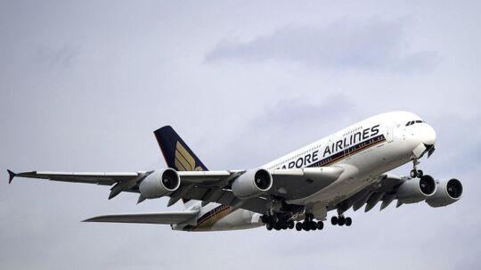 Singepore Airlines. Arkivfoto.