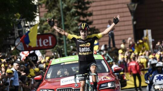 Primoz Roglic vandt onsdagens stenhårde bjergetape.