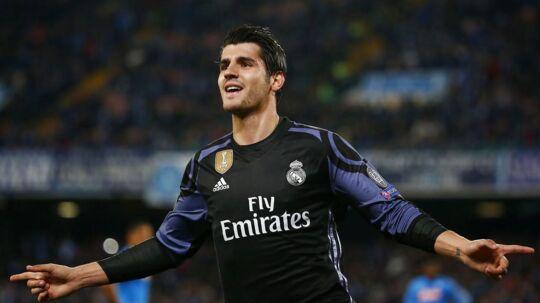 Alvaro Morata skifter ifølge Cadena Ser fra Real Madrid til Chelsea.