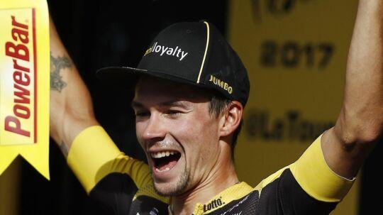 Primoz Roglic kan efter sin egen vurdering ikke udnytte sin fortid som skihopper på nedkørslerne i Tour de France.