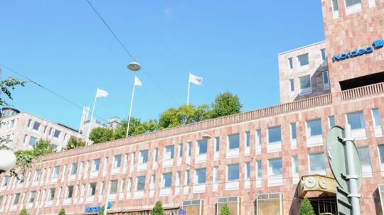 Hvorvidt Nordea skal flytte fra hovedkvarteret i Stockholm, bliver afgjort til september. Free/Nordea