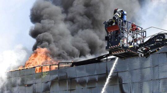 I starten af juli måned stod Gigantium i flammer.