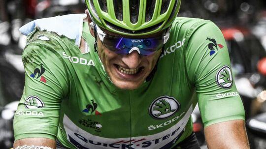 Marcel Kittel måtte onsdag udgå af årets Tour de France.
