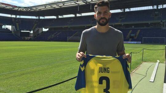 Anthony Jung er ny mand i Brøndby-trøjen.