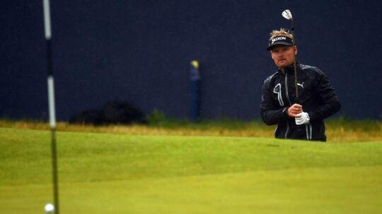 Søren Kjeldsen viste godt spil undervejs på anden runde ved British Open