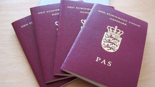 Det danske pas er blandt verdens mest magtfulde.