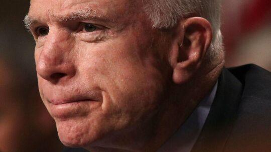 John McCain. Billedet her er fra den 8. februar 2017.