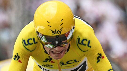 Chris Froome kan søndag eftermiddag skrive endnu en Tour de France-sejr på sit CV.