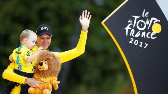 Chris Froome håber, at han kan tangere rekorden med fem sejre i Tour de France til næste år.
