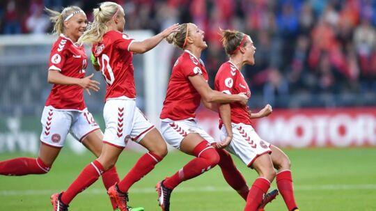 Mandagens kamp mellem Danmark og Norge trak flere seere end Champions League-finalen mellem Juventus og Real Madrid.