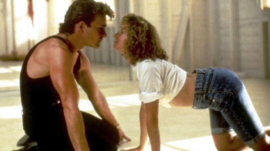 Patrick Swayze og Jennifer Grey i en af de mest legendariske scener fra 'Dirty Dancing'.