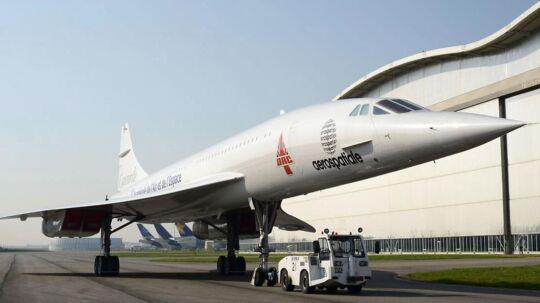 Concorde MSN1, der er et supersonicfly.