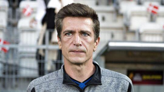 Landstræner Nils Nielsen. Arkivfoto.