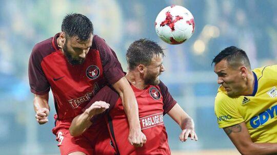 FC Midtjylland tabte 2-3 på udebane til Arka Gdynia.
