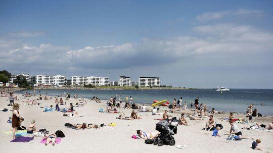 Søndag kan blive den første reelle sommerdag i juli med 25 grader.