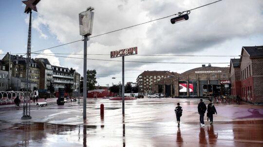Arkivfoto: Skyderiet fandt sted i nærheden af den Røde Plads på Nørrebro.