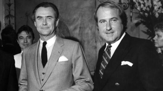 ARKIVFOTO fra 16. oktober 1986: Erik Brandt sammen med prins Henrik ved indvielsen af store kro i Fredensborg.