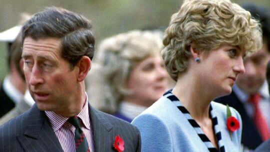 Prinsesse Diana og prins Charles, november 1992.
