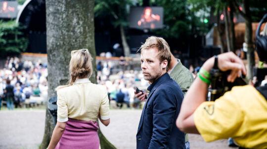 Ny tv-serie til tv2 zulu, filmes onsdag den 8. august på skanderborg festival.