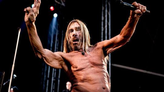 Iggy Pop spiller på Haven festivalens Meadow scene fredag den 11. august 2017 kl. 20.15 på Refshaleøen i København.. (Foto: Mads Claus Rasmussen/Scanpix 2017)
