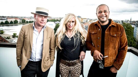 DR præsenterer dommertrioen til den 11. sæson af X Factor på Hotel Manon Les Suites i København torsdag den 10 august 2017. Dommerne til den nye sæson bliver Thomas Blachmann, Sanne Salomonsen og Remee.