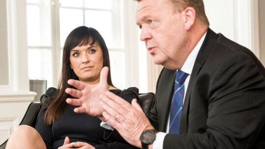 Statsminister Lars Løkke Rasmussen og innovationsminister Sophie Løhde om at skabe en helt ny offentlig sektor. Det er et af regeringens store projekter frem mod næste valg.