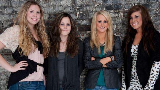 Kailyn Lowry, Jenelle Evans, Leah Messer og Chelsea Houska startede alle med en deltagelse i '16 and Pregnant' og udgør nu 'Teen Mom 2' (Foto: MTV)