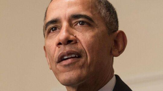 Tidligere amerikansk præsident Barack Obama.