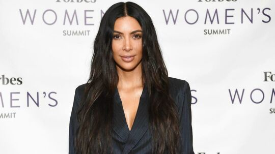 Kim Kardashian attends the 2017 Forbes Women's Summit at Spring Studios on June 13, 2017 in New York City. / AFP PHOTO / ANGELA WEISS