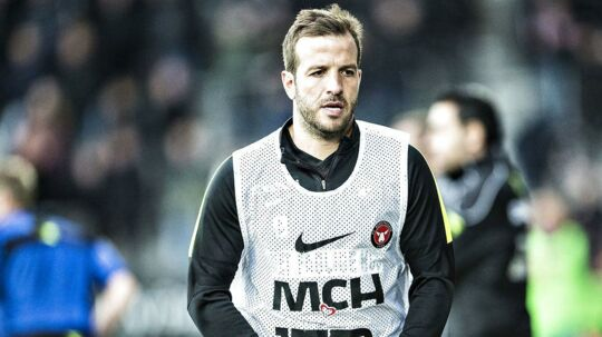 Rafael van der Vaart er på vej ud af FC Midtjylland.