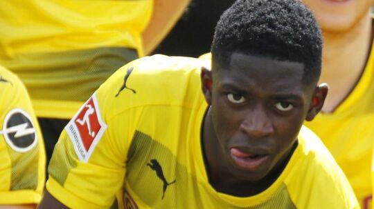 Ousmane Dembele bliver i Dortmund - sådan lyder meldingen fra den tyske klub.